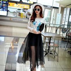 Dabuwawa - Maxi Tulle Skirt