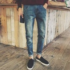 Mitouomo - Washed Jeans