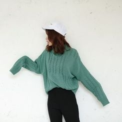 Porta - Ribbed Knit Top