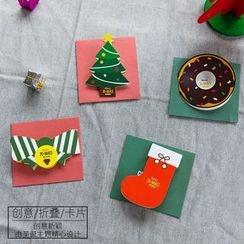 聚可愛 - 立體聖誕卡