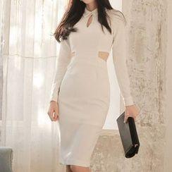 Yilda - Cutout Sheath Dress