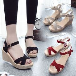 Sunsteps - Ankle-Strap Wedge Sandals