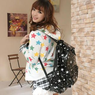 59 Seconds - Star Pattern Backpack