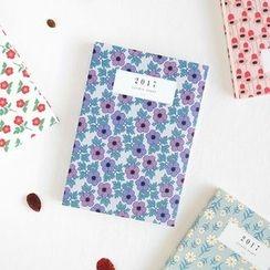 BABOSARANG - 2017 Floral Pattern Diary (S)