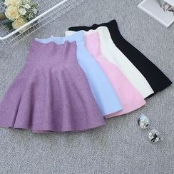 Oh My Love - A-Line Knit Skirt