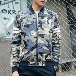 Evzen - Camo Zip Jacket