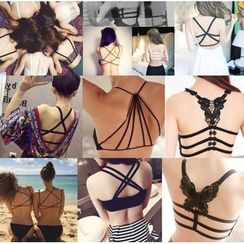 Aquamoon - Strappy Back Bra Top (Various Designs)