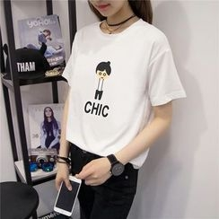 XGZ - 印花短袖T恤