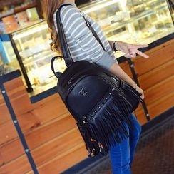 Seok - Tassel Studded Backpack