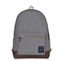 SUPER LOVER - Panel Cotton Backpack