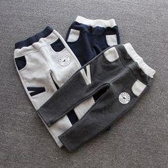 贝壳童装 - 童装拼色运动裤