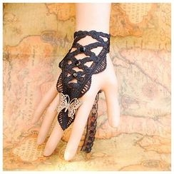 Amina - Lace Bracelet with Ring