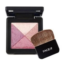The Face Shop - Face It Lesson 04. Artist Cube  Blusher (#02 Satin Pink)