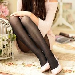 Fitight - 提花裤袜
