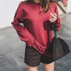 ERANZI - Slit-Hem Pocket-Side Shorts