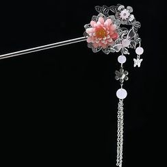 Paparazzi - Chinese Floral Hair Pin