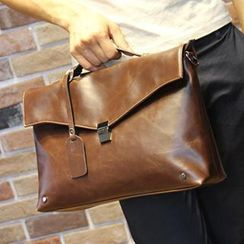 Brickhouse - Faux Leather Briefcase