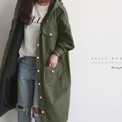 NANING9 - Cotton Hooded Coat