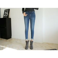 Envy Look - Band-Waist Skinny Jeans