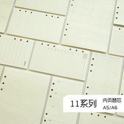 NANA STORE - A5/A6手帳本替芯