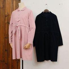 tete - Corduroy Shirtdress