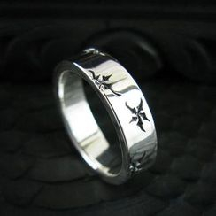 Sterlingworth - Sterling Silver Engraved Ring