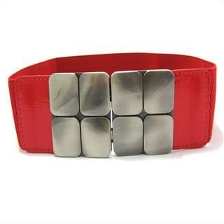 Cuteberry - Metal-Accent Elasticized Belt