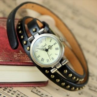 Cuteberry - Studded Strap Watch