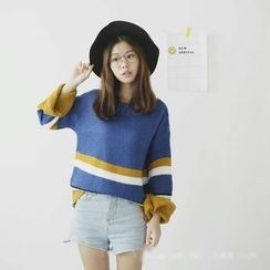 Polaris - Color Block Sweater