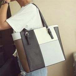 Nautilus Bags - Color Block Tote Bag