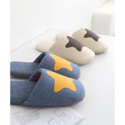iswas - Star Print Slipper (240mm)