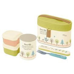 Skater - Forest Life Thermal Lunch Box Set