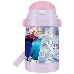 Skater - Frozen Water Bottle with Straw 400ml