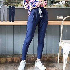 RingBear - Star Printed Drawstring Pants