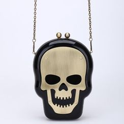 Bling Bag - Skull Clutch