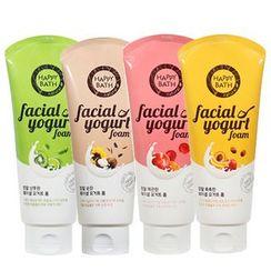HAPPY BATH - Real Moisture Facial Yogurt Foam 200g (4 Types)