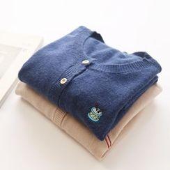 布丁坊 - 刺繡開衫