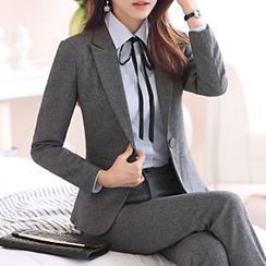 Mija - 纯色西装 / 短裙 / 西裤 / 衬衫套装