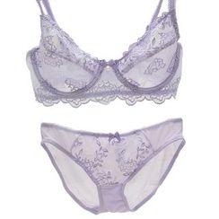 Osemiss - Set: Lace Soft Bra + Panties