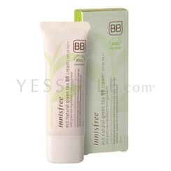 Innisfree - Eco Natural Green Tea BB Cream SPF 29 PA++ (#02 Natural Beige)