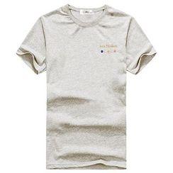 AOYAMA - Short Sleeve Printed Tee