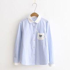 Tangi - Pinstriped Shirt