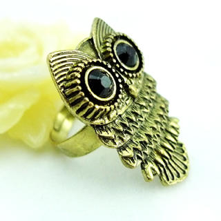 Fit-to-Kill - Owl Ring