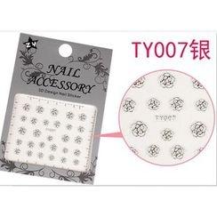 Benlyz - 3D Nail Sticker (TY-7S)