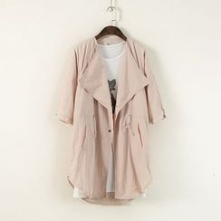 Ranche - 3/4 Sleeve Trench Coat