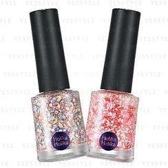 Holika Holika - Glitter Nails Set : Glitter Nail #GT04 + Glitter Nail #GT05