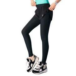 YUBE - Legging Inset Sport Shorts