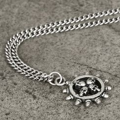 Rememberclick - Skull-Pendant Necklace