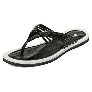 yeswalker - Two-Tone Thong Sandals