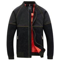 RUYA - Paneled Zip Jacket